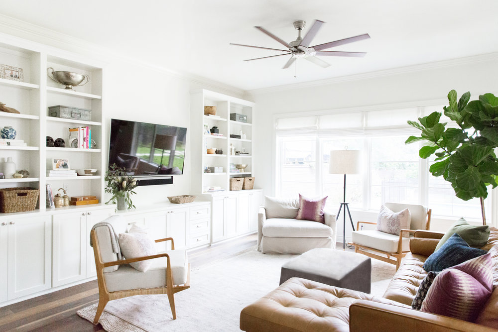 Austin Texas Project: Living Room, Master Room, Guest Room