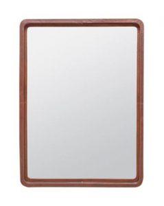 Franklin Leather Mirror