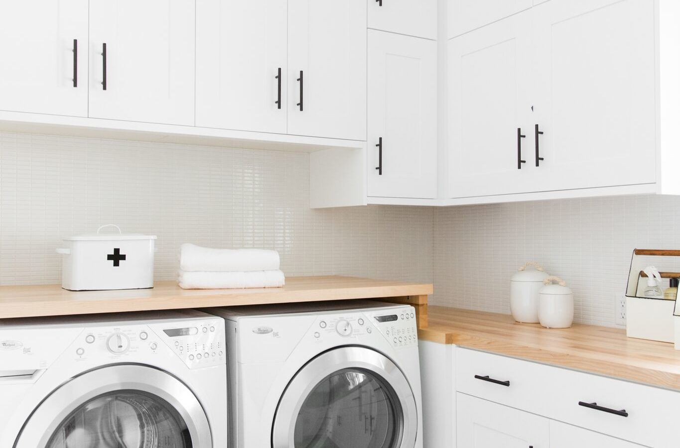 Riverbottoms Remodel: Laundry Room Before/After