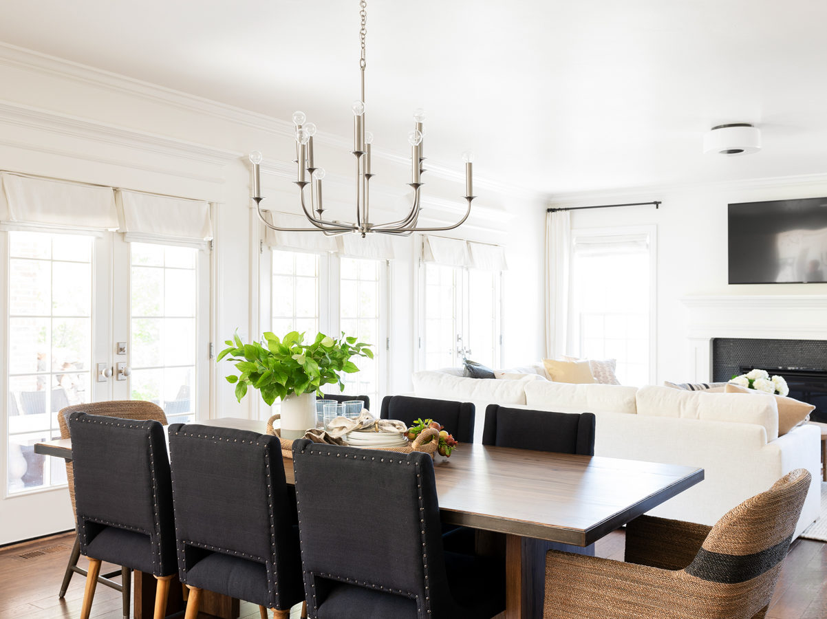 Two-Day Transformation: Dining Area Photo Tour