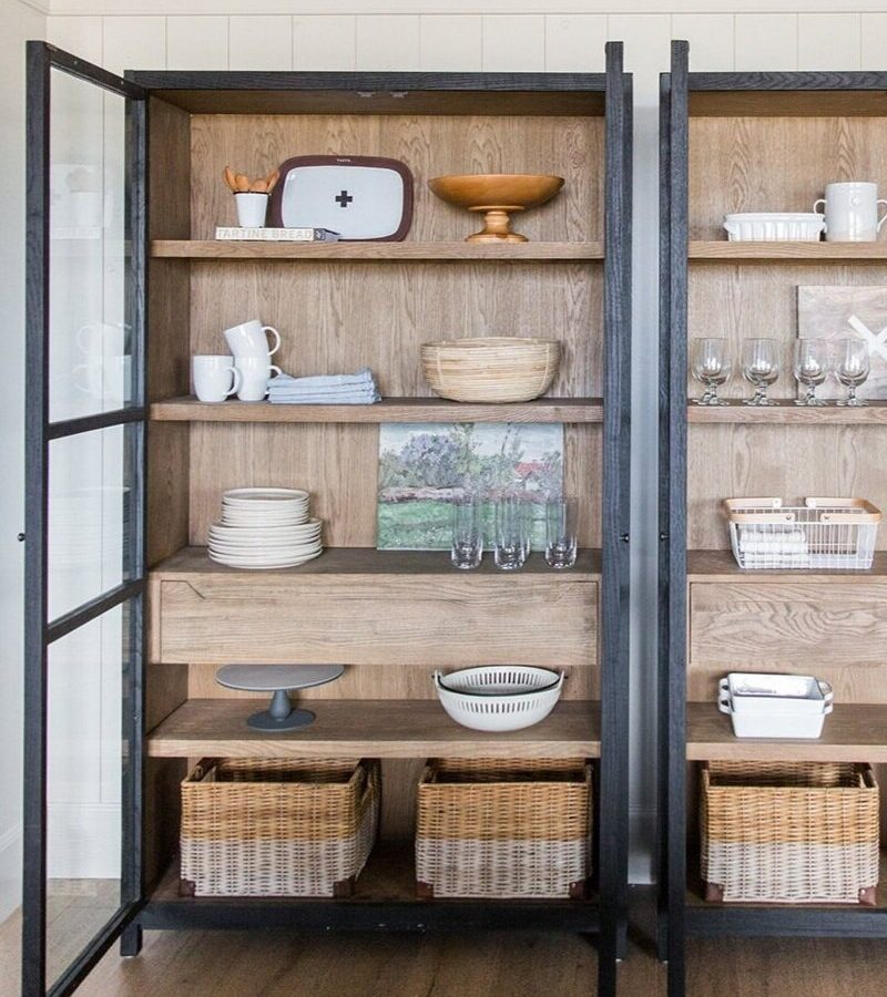 Simple Styling Kitchen Hutch Cabinets Studio Mcgee