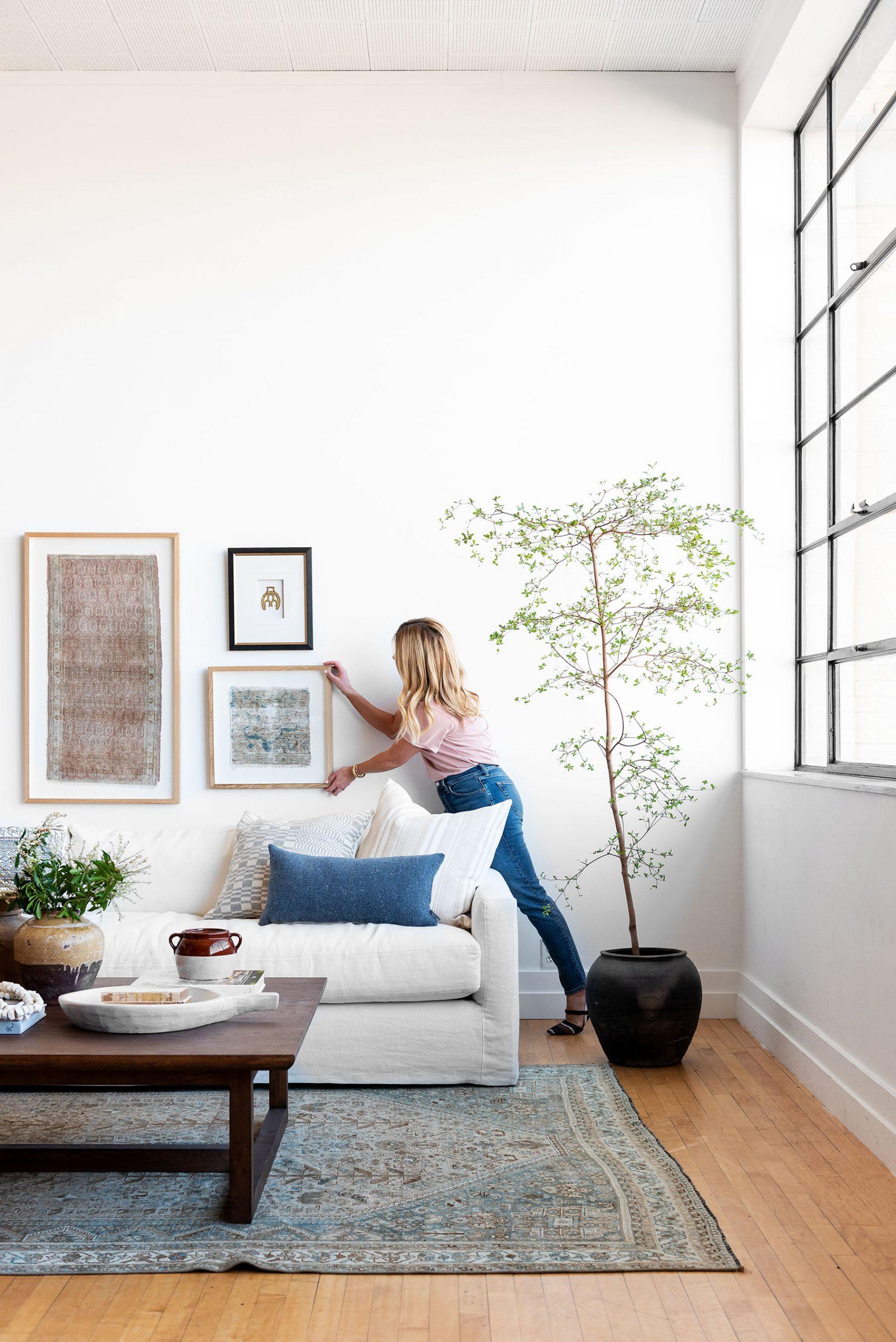 How To Hang Art Correctly 3 Simple Tips Studio Mcgee