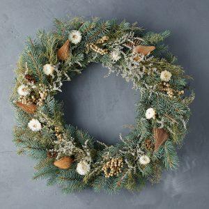 Fresh Winter White Wreath