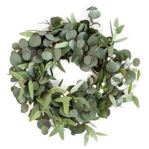 Faux Mixed Eucalyptus Wreath