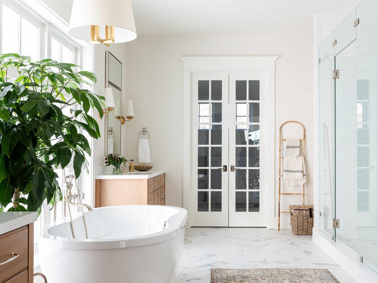 Dreamy Texture Filled Master Bath