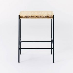 Woven Counter Height Barstool