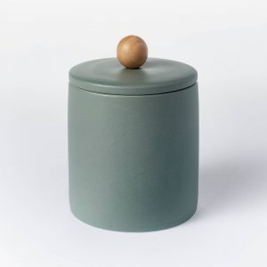 Lidded Stoneware Container