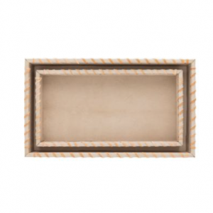 Wrapped Leather Tray