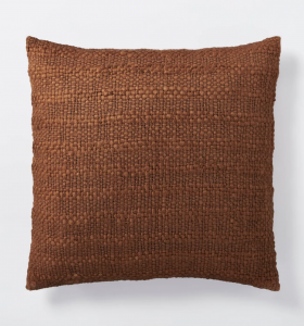 Oversized Woven Acrylic Square Throw Pillow