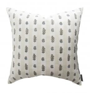 Roselle Patterned Pillow Cover