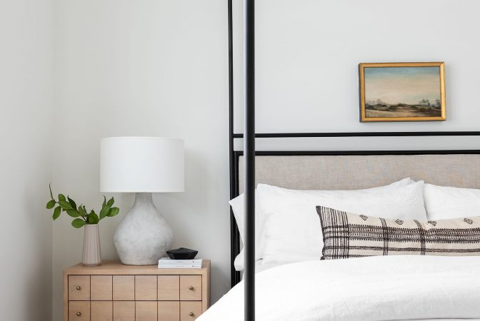 A Modern & Layered Guest Bedroom Look
