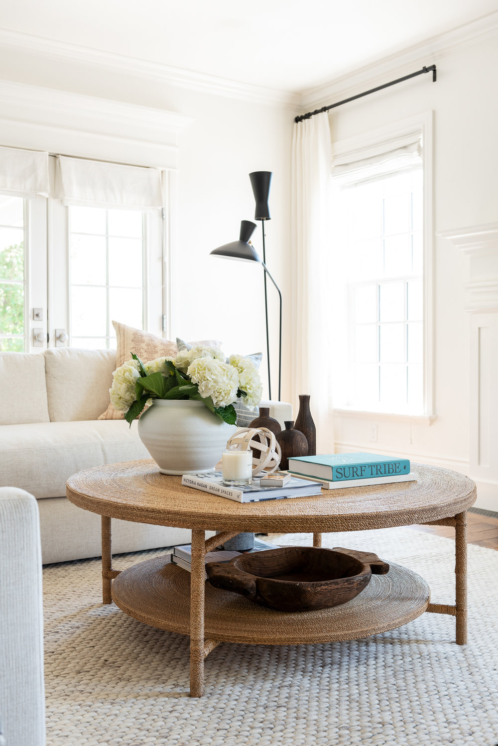 Hacks for Round Coffee Table Styling   Studio McGee