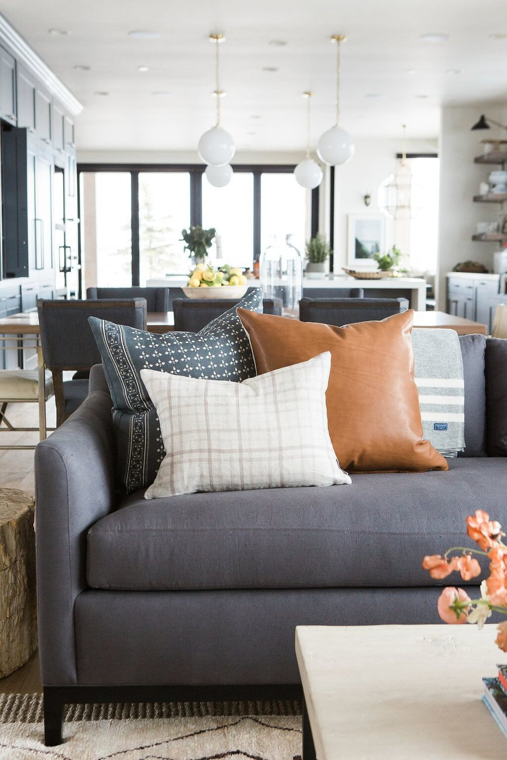 Image of: How To Style Your Throw Pillows Studio Mcgee