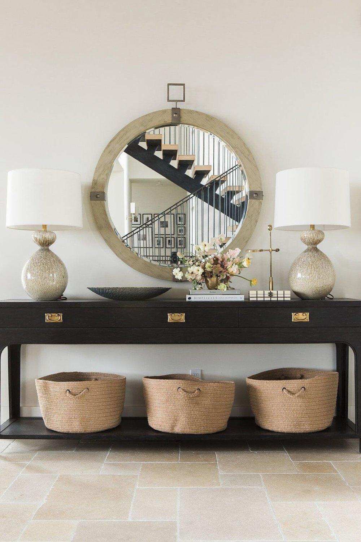 Lanka Console  +  Blackwell Mirror  +  Gannet Table Lamp
