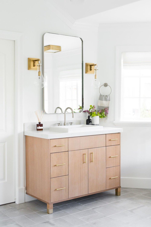 Crisp Modern Master Bathroom Remodel Studio Mcgee