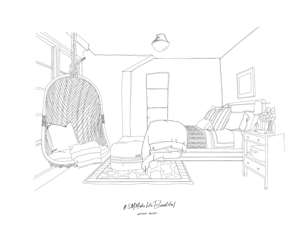 Our Interior Coloring Book Pages Studio Mcgee