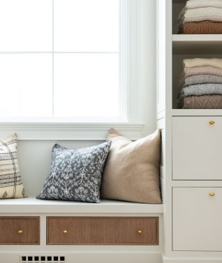 A Living Room Refresh + New Vintage Pillows!