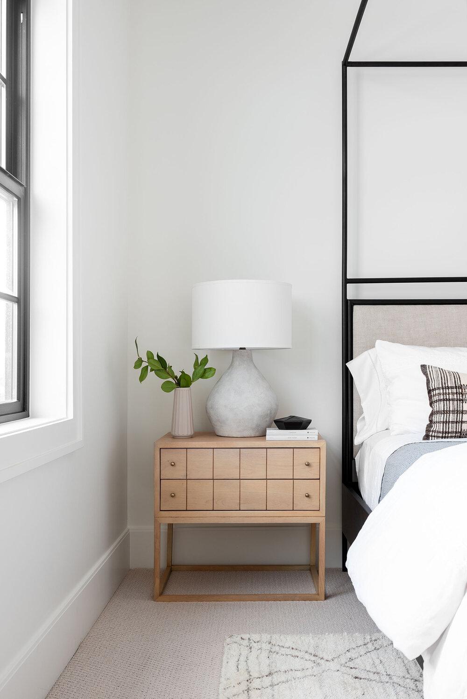 Streamlined Layered Bedroom