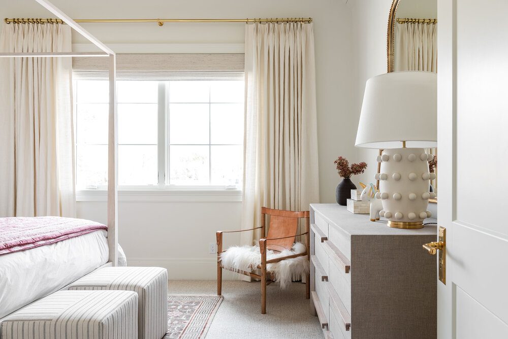Sumana carpet from Stanton    in the color Sand in    Ivy's Room.