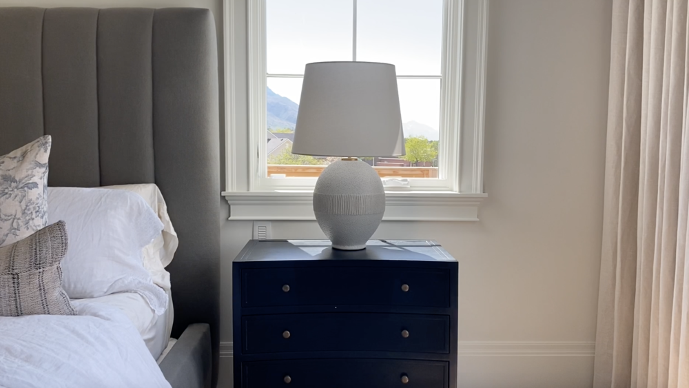 Styling Shea's Master Bedroom Nightstand