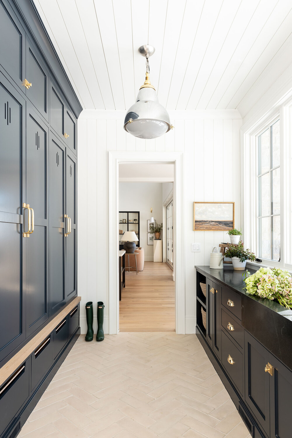 The McGee Home: Mudroom Tour