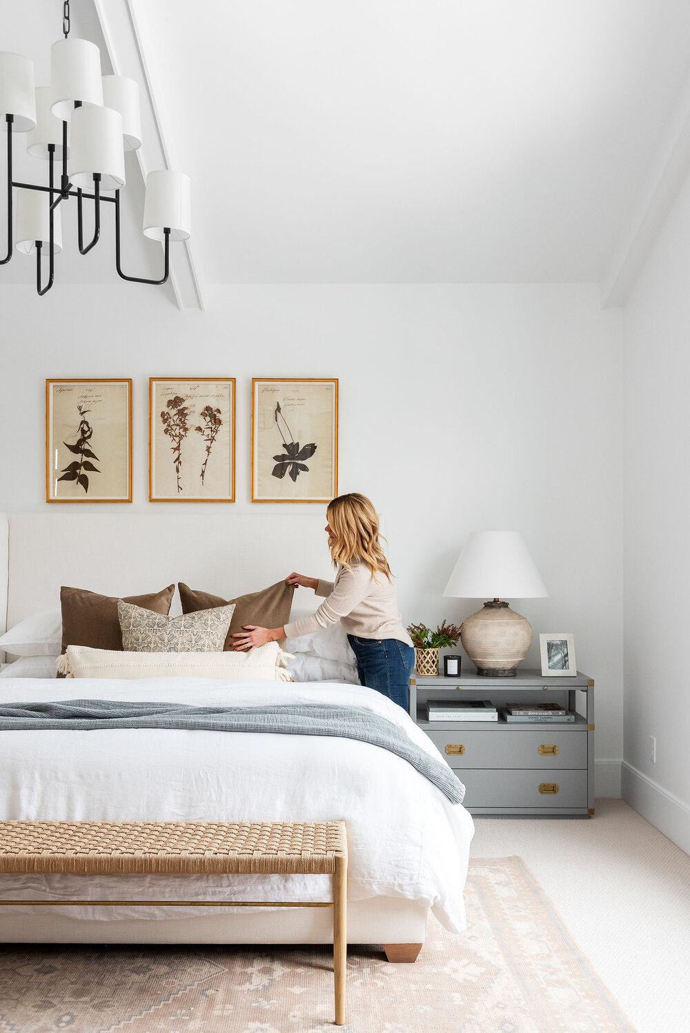 Our step by step guide to styling a bed