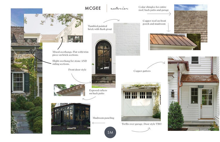 The McGee Home Exterior: The Details