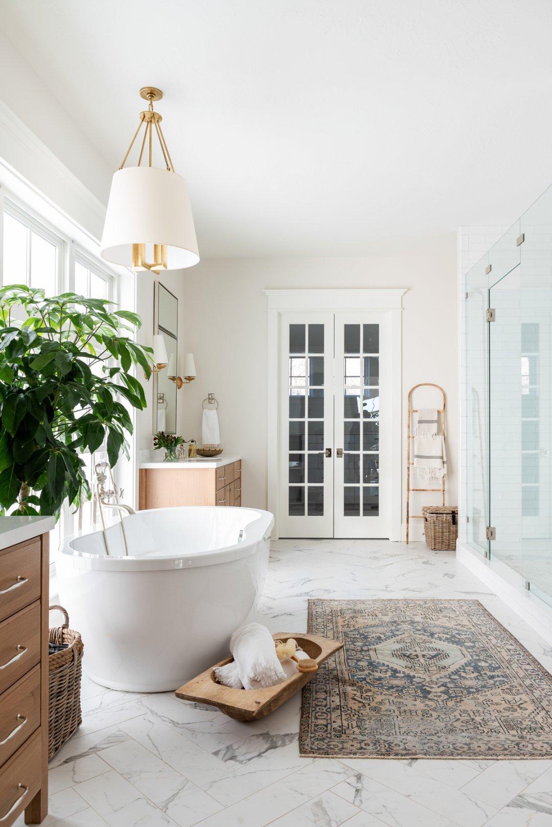 Dreamy Texture Filled Master Bath Studio Mcgee