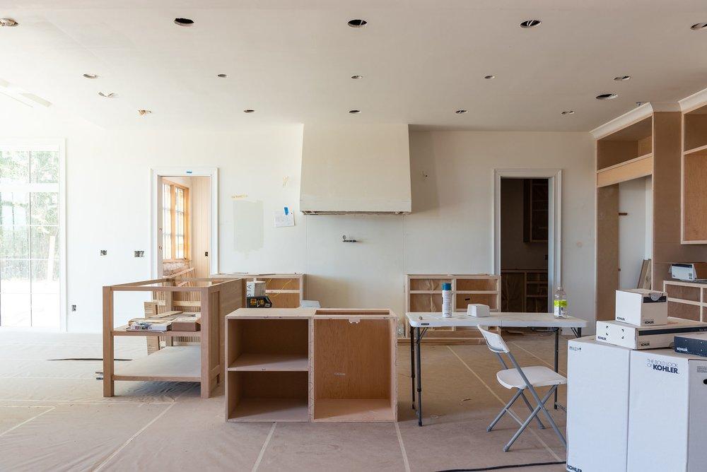 McGee home kitchen progress.