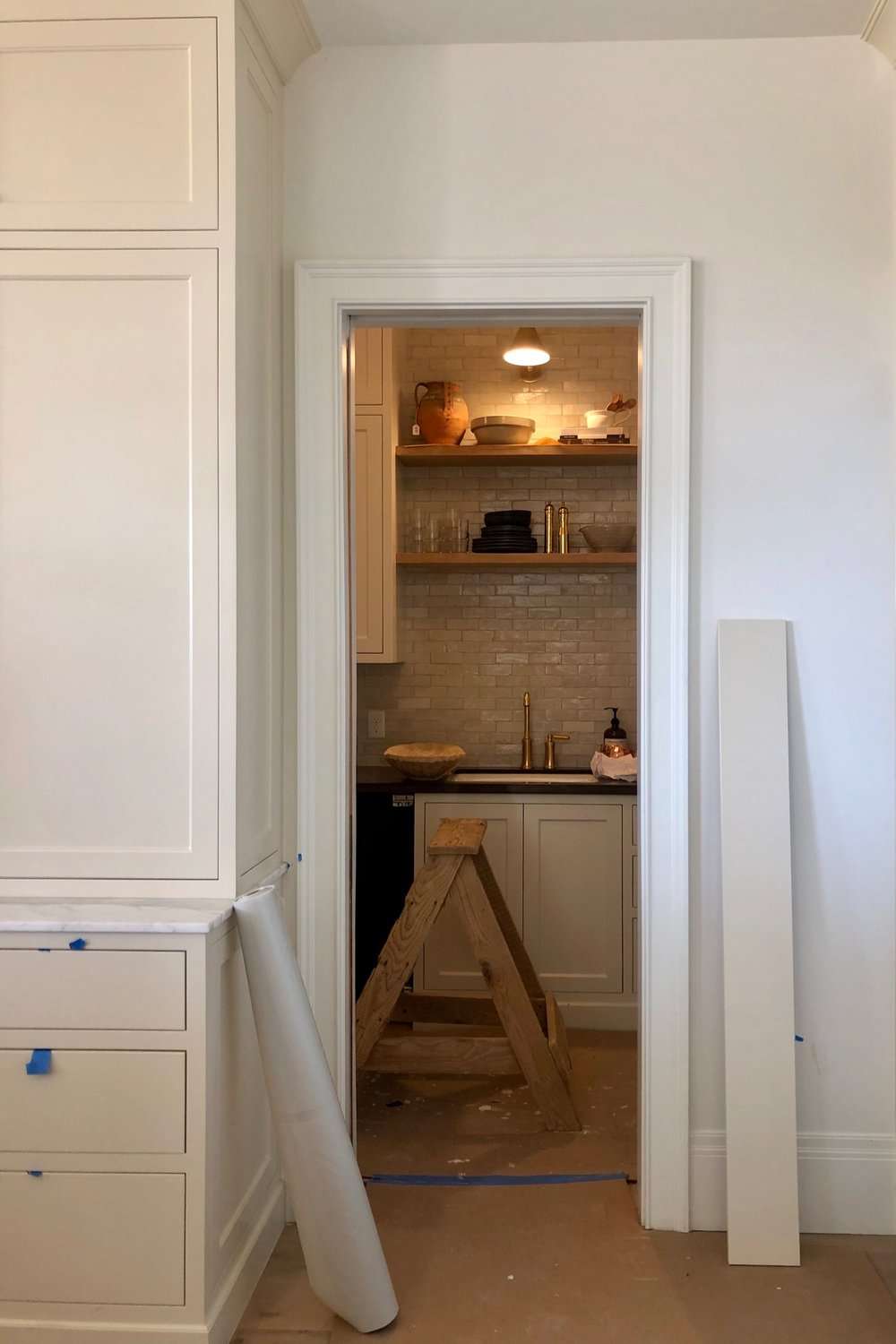 A sneak peak into one of our favorite rooms, the pantry!