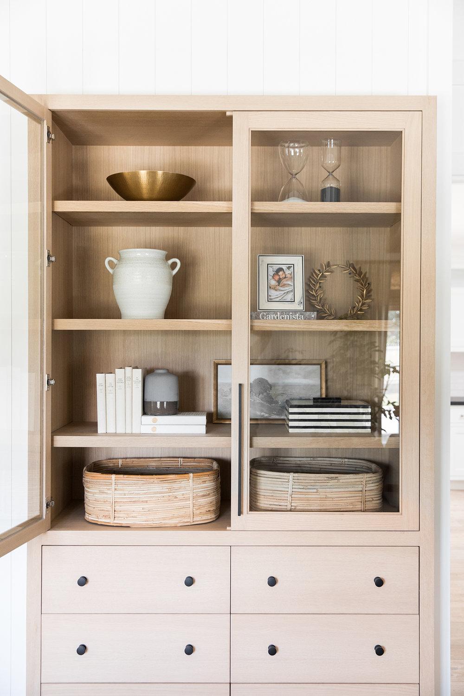 Custom Built-in Cabinet