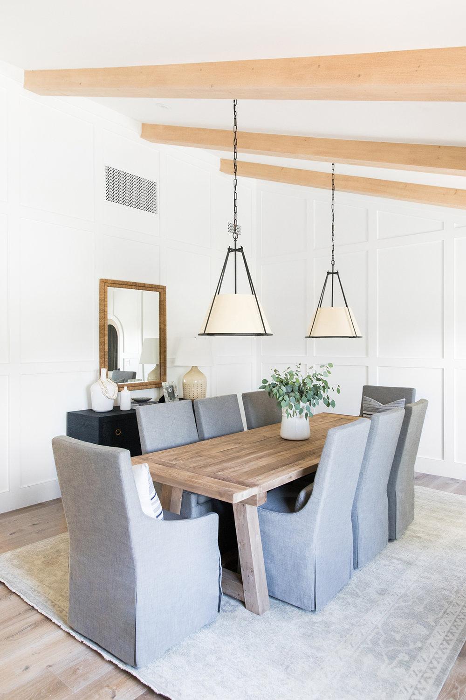 Dining Room | Natural Beams