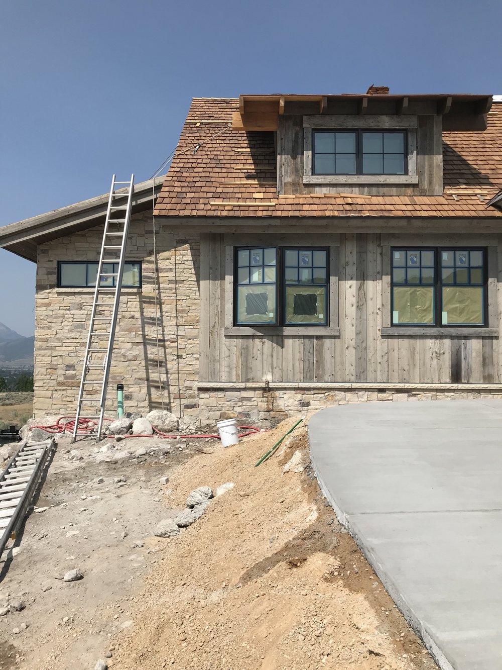 Showcase Home Progress