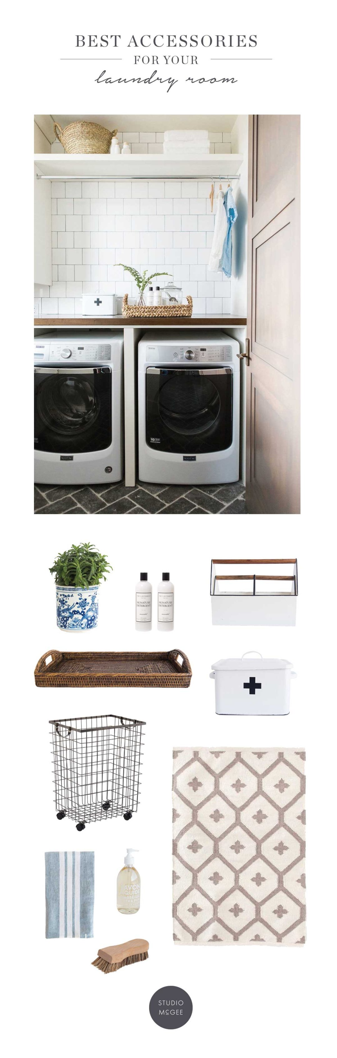 Tips For The Perfect Laundry Room Studio Mcgee