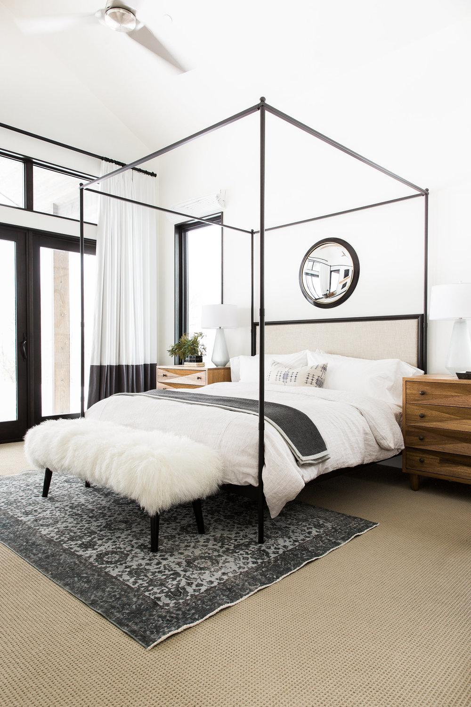 Mountain Modern Home Bedroom