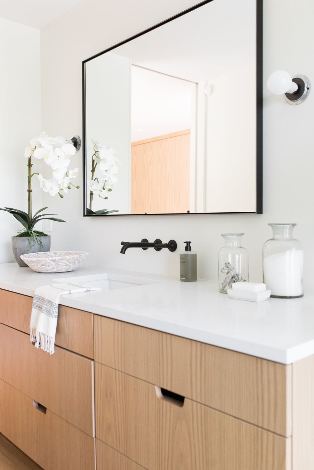 Picture of: Wall Mounted Faucet Bathroom Height Image Of Bathroom And Closet