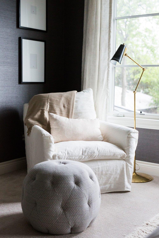Cozy Bedroom Reading Nook