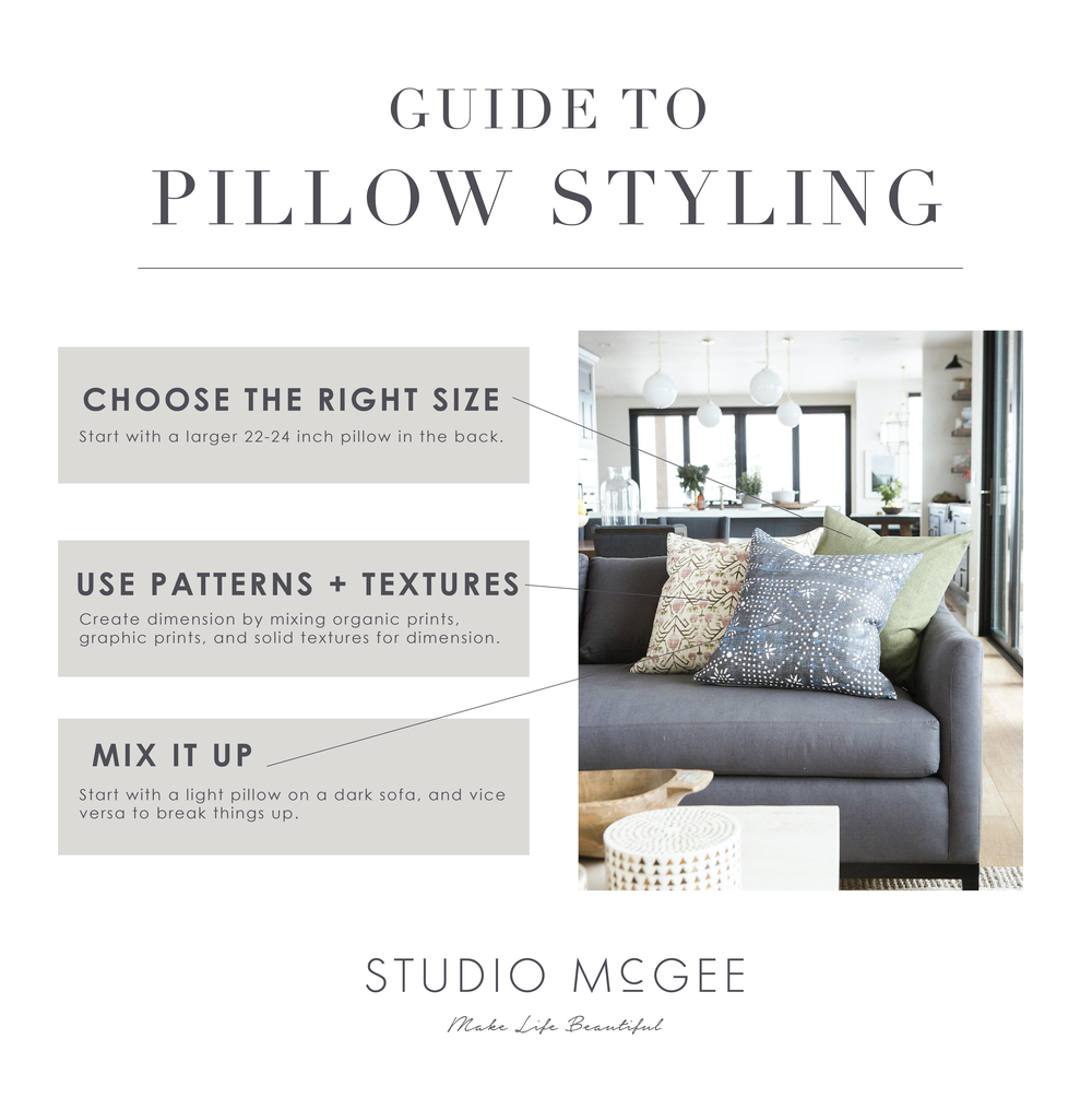 Studio McGee Guide to Pillow Styling