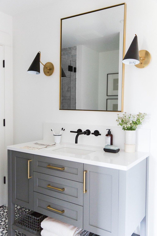 Mercer Island Project Guest Bathroom Studio Mcgee