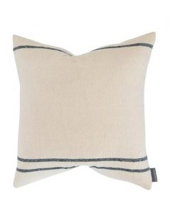 Abigail Silk Stripe Pillow Cover