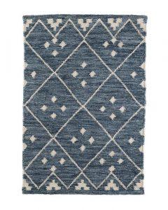 Kota Indigo Wool Rug