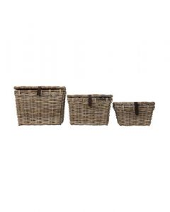 Rattan Trunk Basket