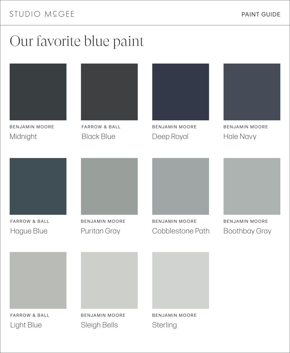 Our Favorite Blue Paints