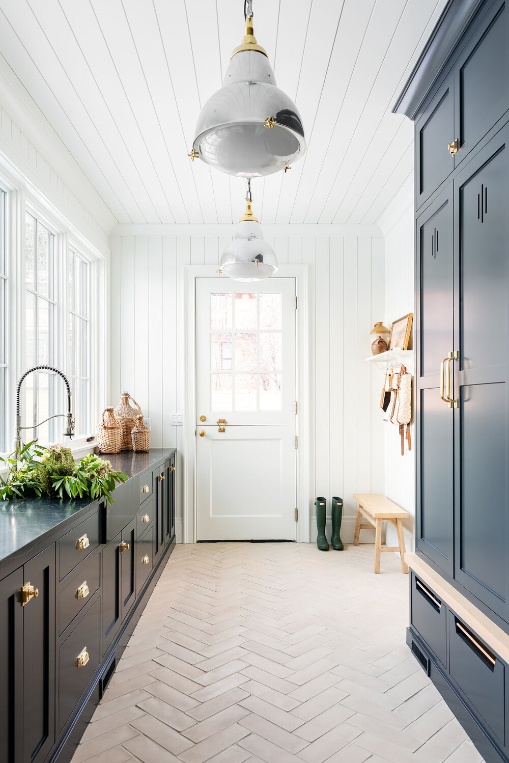 The McGee Home Mudroom