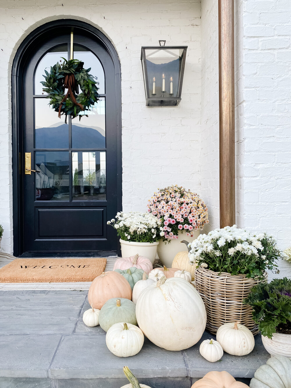 Studio McGee's Fall Porch