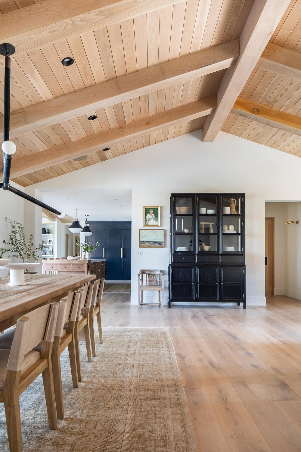 The Crestview House: Entry, Dining, & Living Space