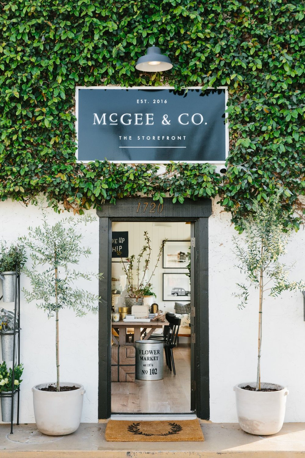 McGee & Co. Storefront