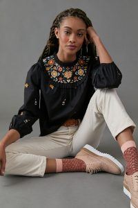 Vivian Embroidered Blouse