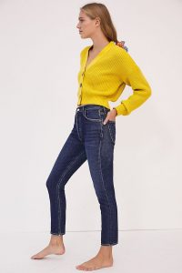 AGOLDE Nico Ultra High-Rise Straight Jeans