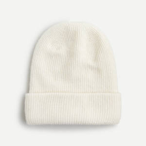 Ribbed Beanie in Supersoft Yarn